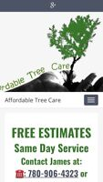 Tree removal and pruning call or text 780 906 4323