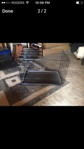 Selling 2 Dog Crates (XL and L Crates)