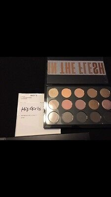 100% Authentic MAC X 15 IN THE FLESH EYE SHADOW PALETTE BRAND NEW IN BOX