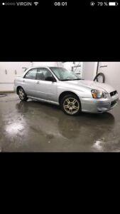 Subaru 2.5 rs