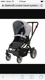 Steelcraft cruiser travel system Claremont Glenorchy Area Preview