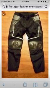 First gear motorcycle pants