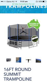 Adult Size Trampoline Brand New - Free Delivery