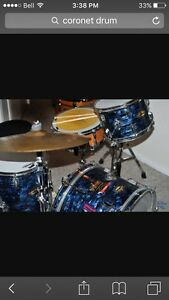 WANTED! Coronet drum kit.
