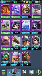 Clash royale account jump start
