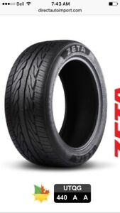 New tires (new current prices)