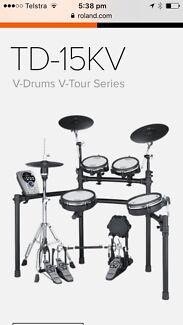 Roland Electronic drum set up.