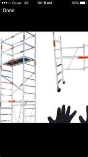 Mobile scaffold hire