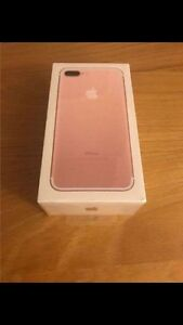 Brand new iPhone 7 rose gold
