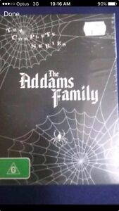 The Addams family dvd box set Sunnybank Brisbane South West Preview