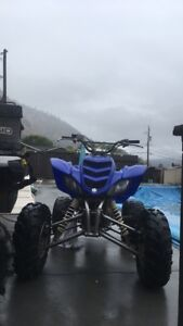 2004 raptor 660 with a big bore kit