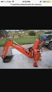 WANTED BACKHOE ATTACHMENT