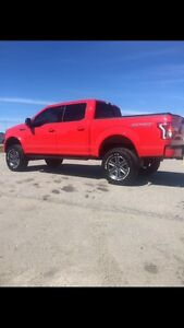 "2015 Ford F-150 sport lifted 6"" suspension lift 35"" tires"