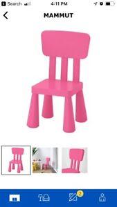 IKEA kids table & chairs