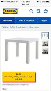 IKEA LACK side table (2 for sale)