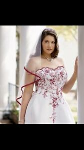 Wedding dress size 20 from David's Bridal