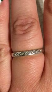 Michael Hill white gold ring/band Joondalup Joondalup Area Preview