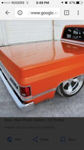 WANTED 73-87 Chevy shortbox tonneau cover hard or soft