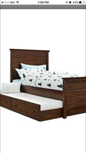 Trundle bed and night stand