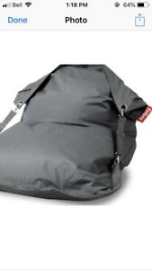 Fat Boy bean bag- Buggle Up outdoor style
