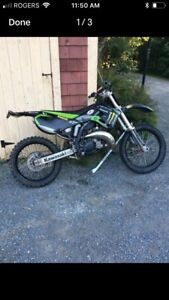 Clean kx125 sale or tdade