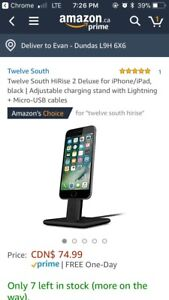 Twelve South Deluxe Android and iPhone Charger and Stand