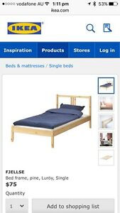 IKEA single bed frame Bexley North Rockdale Area Preview
