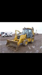 Wanted Deere or cat used backhoe