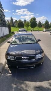 Audi A4 1.8T 2004 AWD with winter tires West Island Greater Montréal image 3