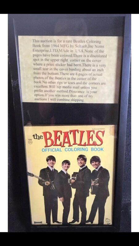 The Beatles Coloring Book Circa 1964 (Rare) (Original) Great Condition