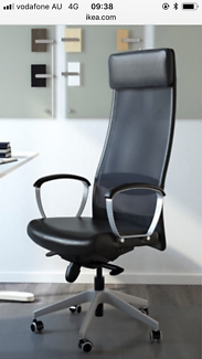 Markus office chair from Ikea