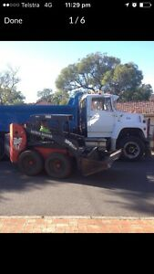 Bobcat & Tipper Truck Hire (FREE QUOTES) Stirling Stirling Area Preview