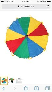 6 handles parachute