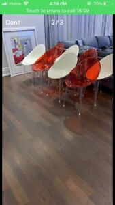 Authentic Philippe Starck Mr. Impossible Chairs 70% Off