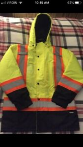 Winter Hi Vis Parka