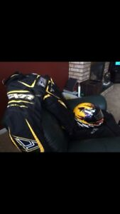 Floater snowmobiles suit