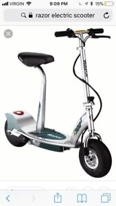 WANTED E300s RAZOR ELECTRIC SCOOTER