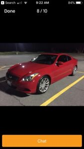 Wanted Infiniti G37 Auto cash in hand