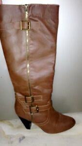 Justfab leather boots