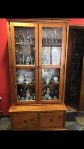 Glass display cabinet Tallebudgera Gold Coast South Preview