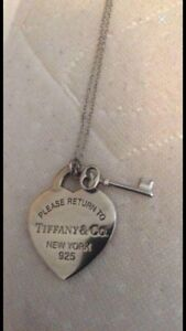 Authentic Tiffany Necklace & Pendant