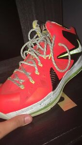 Lebron X Elite - Total Crimson