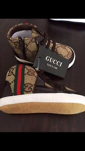 -- New Gucci Baby Shoes --