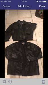 Men's leather jacjets