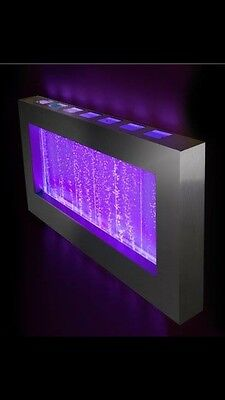 """WALL BUBBLE PANEL 39""""x22"""" Color Lights , Remote Ctrl $100 OFF"""