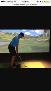 Indoor golf lessons