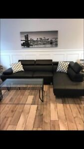 BRAND NEW L shaped couch set