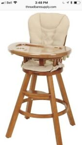 Graco hardwood highchair