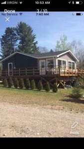 Cottage for rent Lake Kipawa Quebec