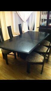Table et 6 chaises Bermex
